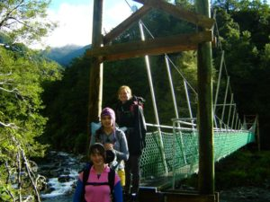 Tramping makes for a great family trip!