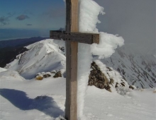 Mt Hector cross