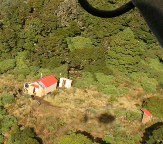 The new Dorset Ridge Hut, Feb 2008